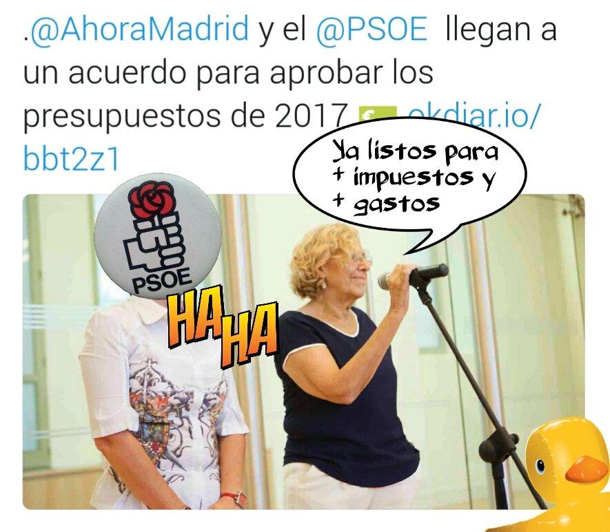 Gracias PSOE por humillar a los madrileños