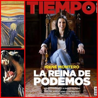 Irene Montero. La Reina de Podemos por Rafael Gómez de Marcos