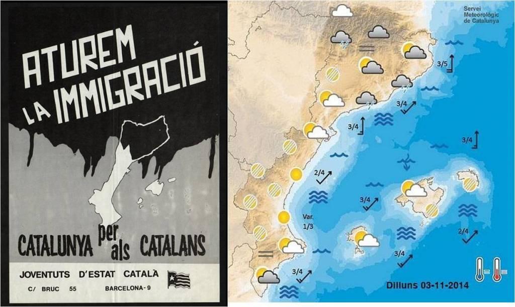 La falsedad cotidiana e histórica de los separatistas catalanes