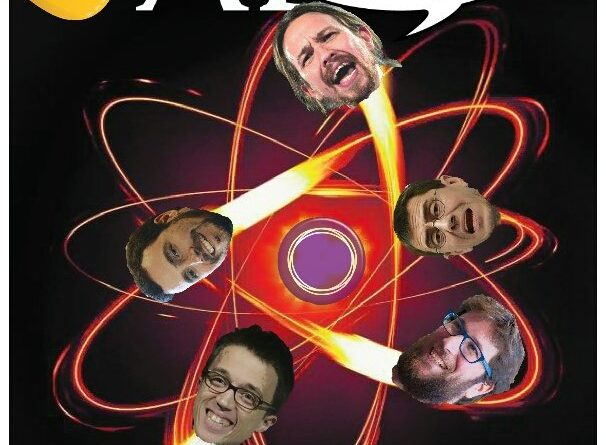 La otia será tan fuerte que se les caerán los bolsones de higgs al suelo. Ilustración de Linda Galmor