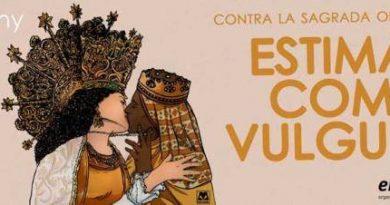 pagar con DINERO PUBLICO la propaganda con dos Virgenes morreandose