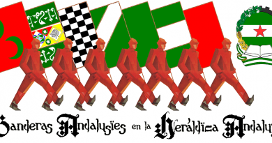 Banderas andalusíes en la heráldica andaluza