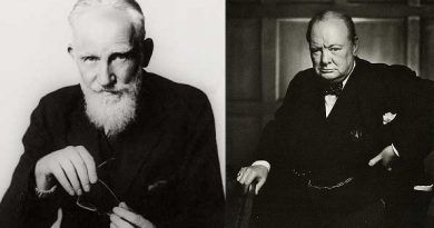 Bernard Shaw  y Sir Winston