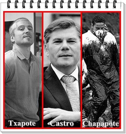 Chapote, Castro yel chapapote