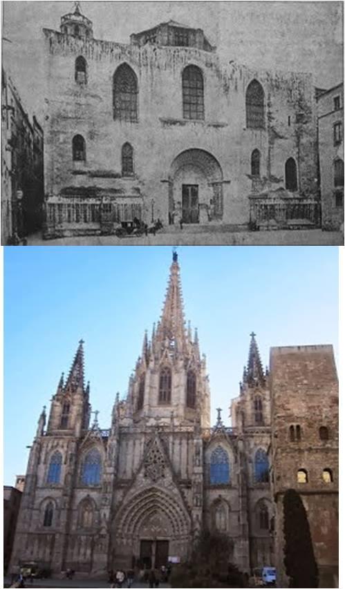 Comparativa de la foto de 1880
