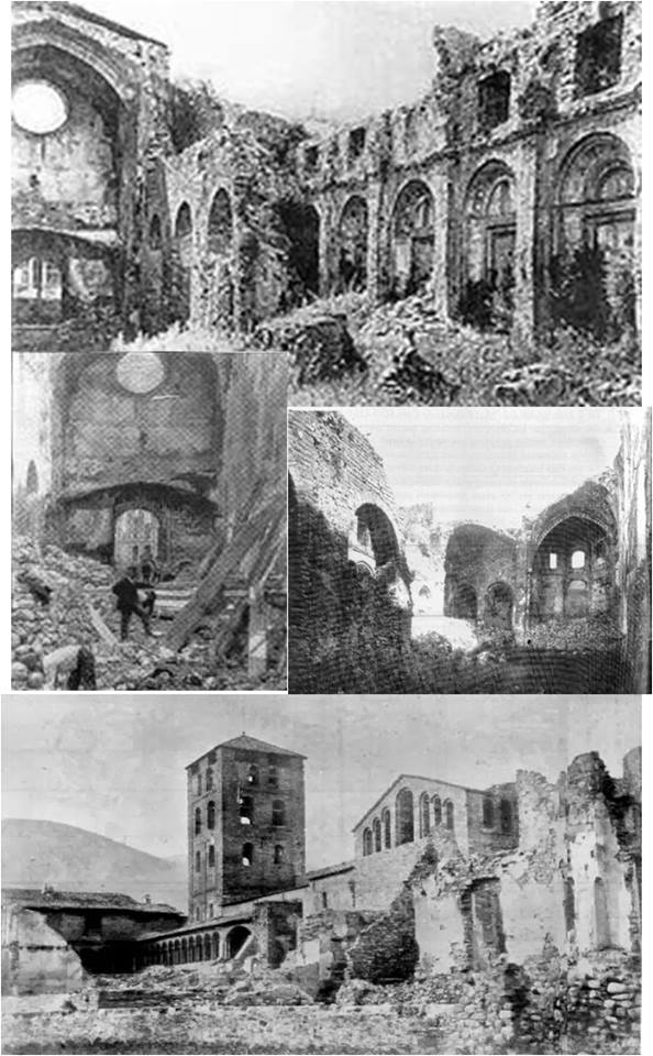 De estas ruinas....