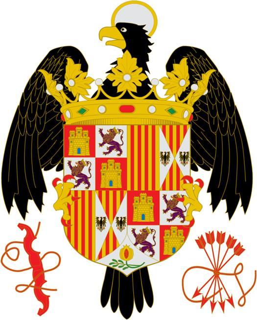 Escudo de los Reyes Católicos (1492-1506)