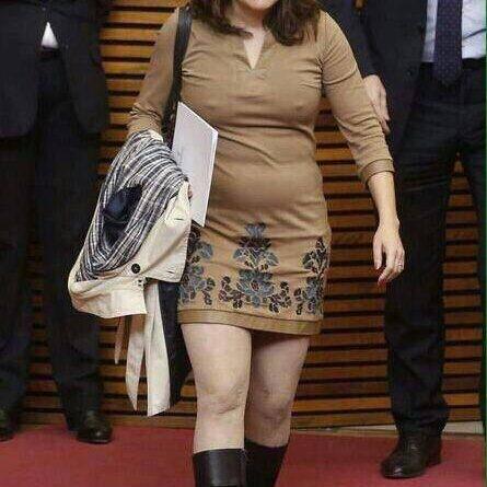 La foto que Mónica Olra intento hacer desaparecer