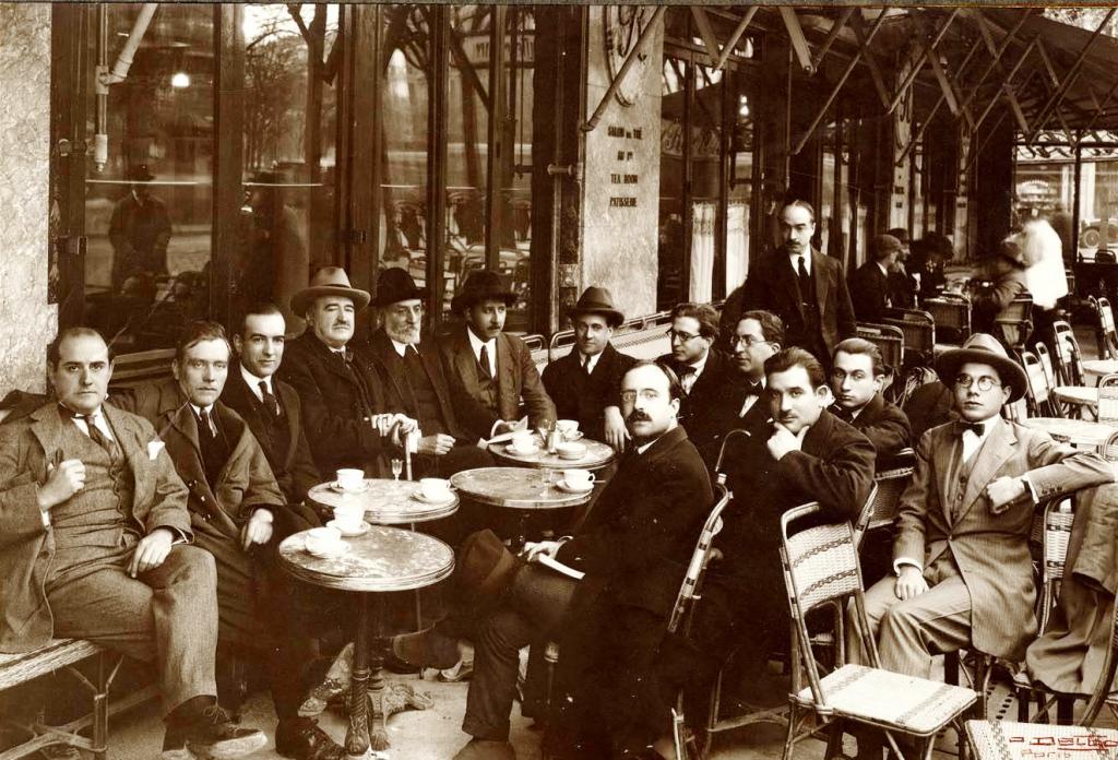 Los cafés tertulia de principios de siglo