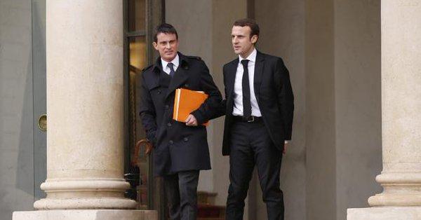 Manuel Valls anuncia que votará a Macron, y no a Hamon