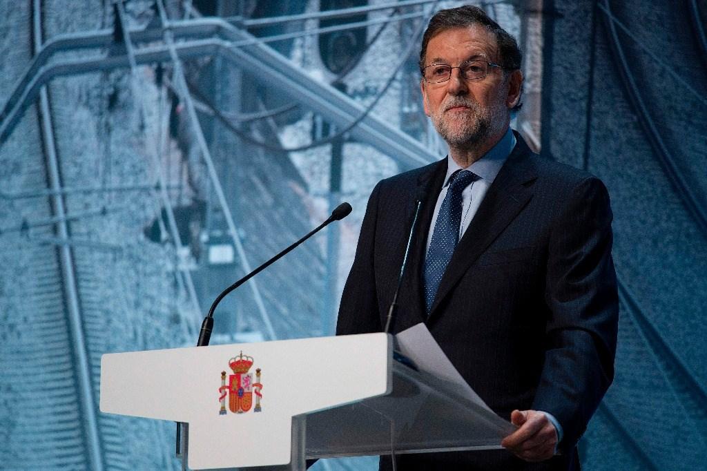 Mariano Rajoy anunciando las inversiones en Cataluña
