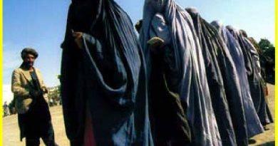 Nuestros hombres occidentales son malos, malísimos, Foto de Rawa.org