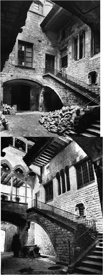 Palacio Berenguer de Aguilar en la calle Montcada