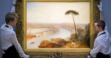 Roma desde el Monte Aventino», de Turner