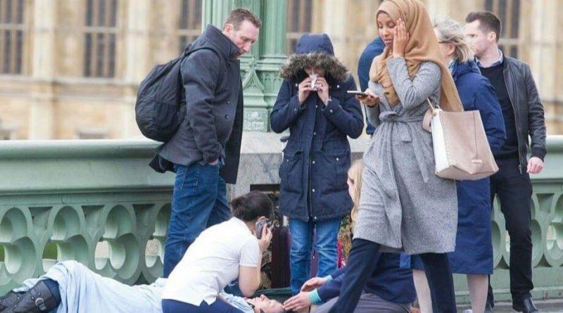 Y así es como reacciona una musulmana moderada ante el atentado de Londres.jpg