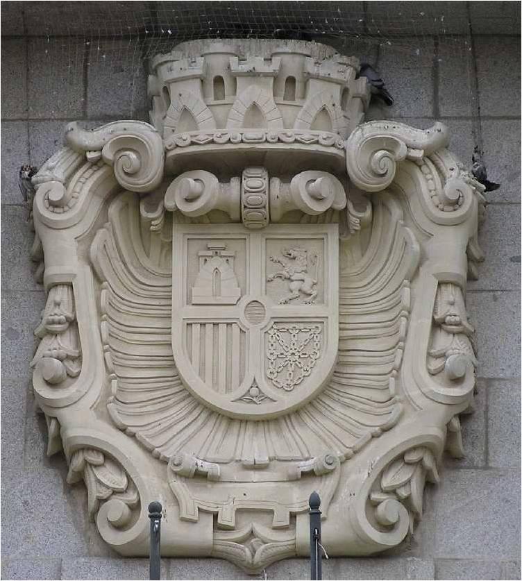 Y en el Banco de España en Ávila