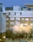explosión del piso de LEganés captada por un video caasero