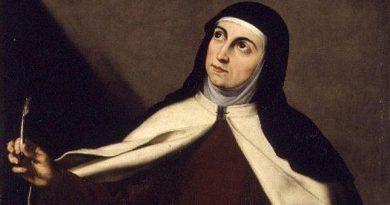 Teresa de Cepeda  más conocida como santa Teresa de Jesús o simplemente Teresa de Ávila
