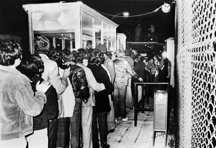 Apertura de la verja de gibraltarLa Línea de la Concepción, Cádiz. (15-12-1982)