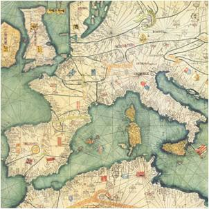Detalle del mal denominado Atlas catalán