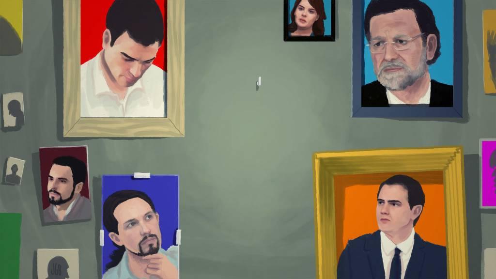 El centro político en España
