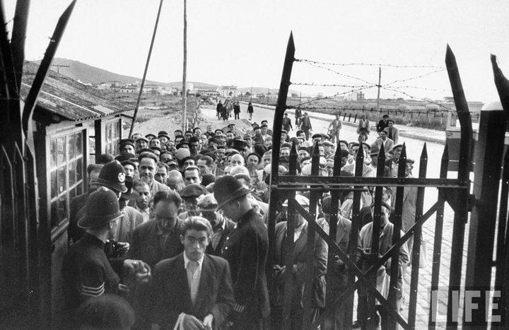 El cierre de la frontera de Gibraltar provocó distintas medidas a favor de los trabajadores que perdían su empleo