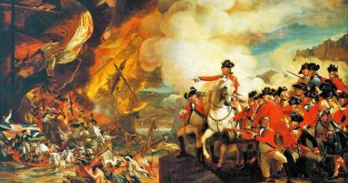 La tragedia de las baterías flotantes en el sitio de Gibraltar Óleo de John Singleton Copley
