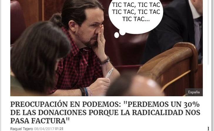 Preocupación en Podemos