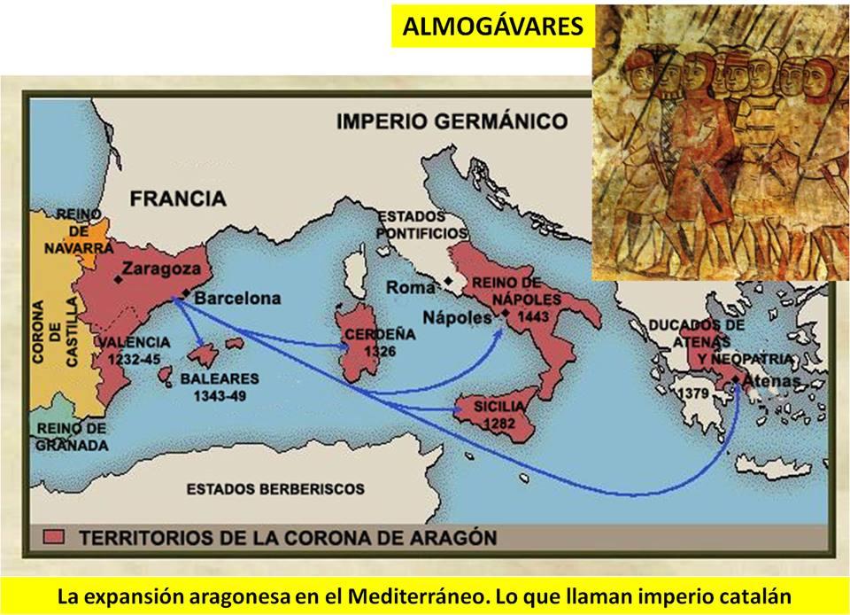 Territorios de la Corona de Aragón