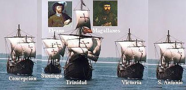 1519 Magallanes – Elcano 1522