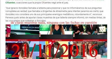 Ayer García Ferreras dio otra muestra de manipulación