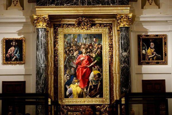 El expolio en la Sacristía de la catedral de Toledo