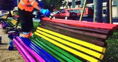 Los bancos gays del ayuntamiento de Valencia de Joan Ribó