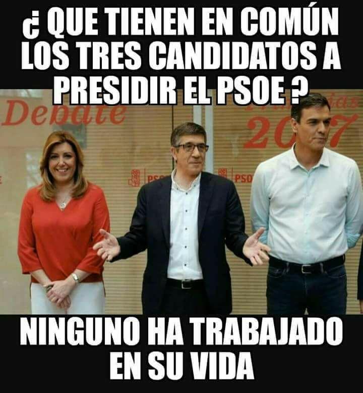 Muy pocas horas faltan para saber quién de estos tres manejará, esa nave hundida que es el PSOE