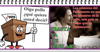Pablo Iglesias 20 de mayo de 2017
