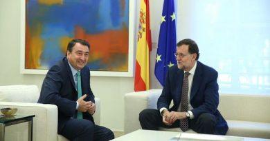 Rajoy bailando el aurresku