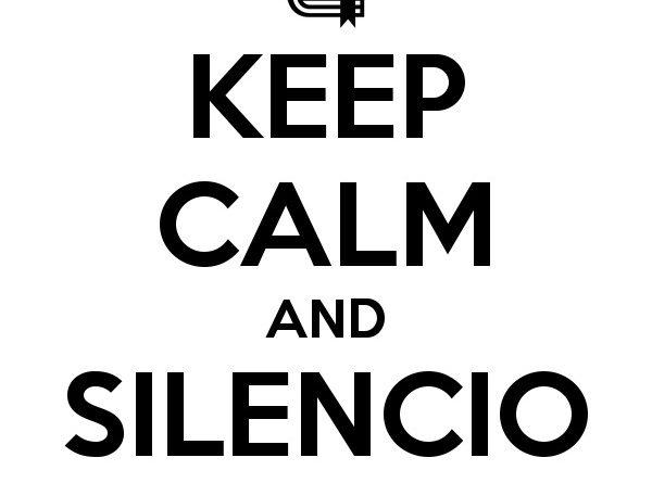 Otro de mis pretendidos momentos de silencio es el viaje en los 'Vagones de Silencio' del AVE. ¿Por qué los llaman de silencio? Poca gente conoce las normas de esos espacios, visto el nulo caso que les hacen. Ni sonidos de aparatos electrónicos, ni conversaci