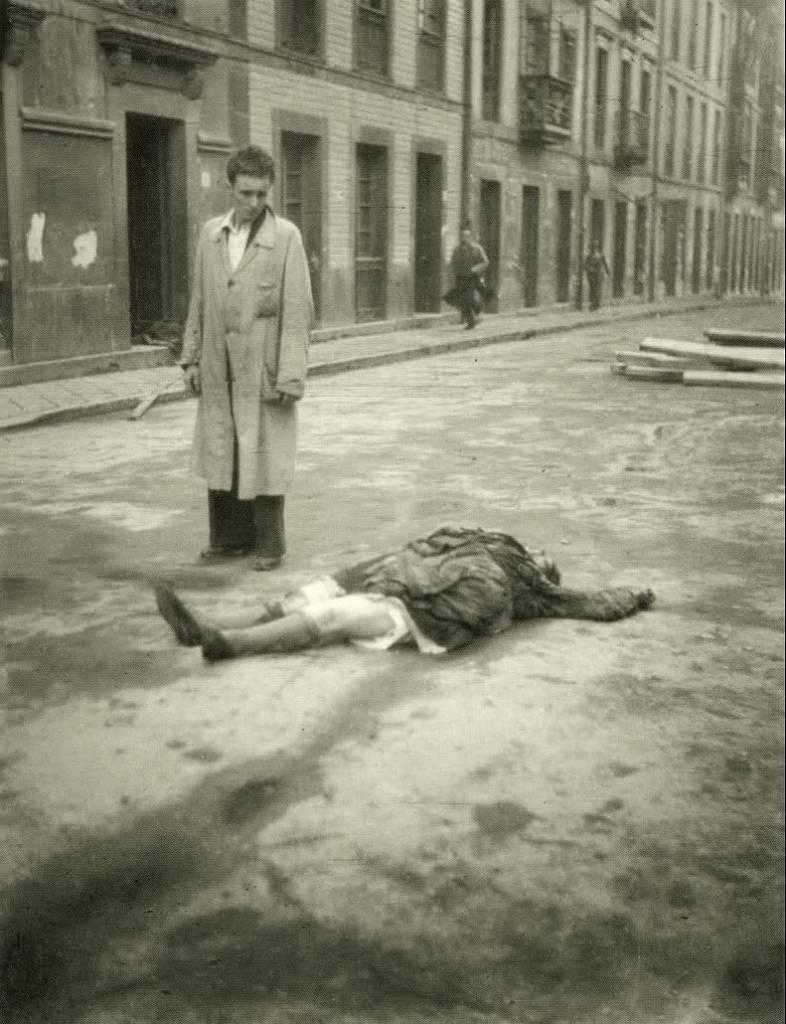 Bombardeo de Oviedo. Una pobre víctima