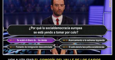 Valls ofrece apoyo a Macron y precipita la crisis de los socialistas. Ilustración de Santo Orue