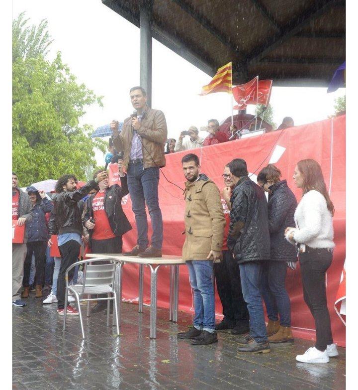 Vosotros os reiréis, pero yo cada vez veo más altura en el discurso de Pedro Sánchez