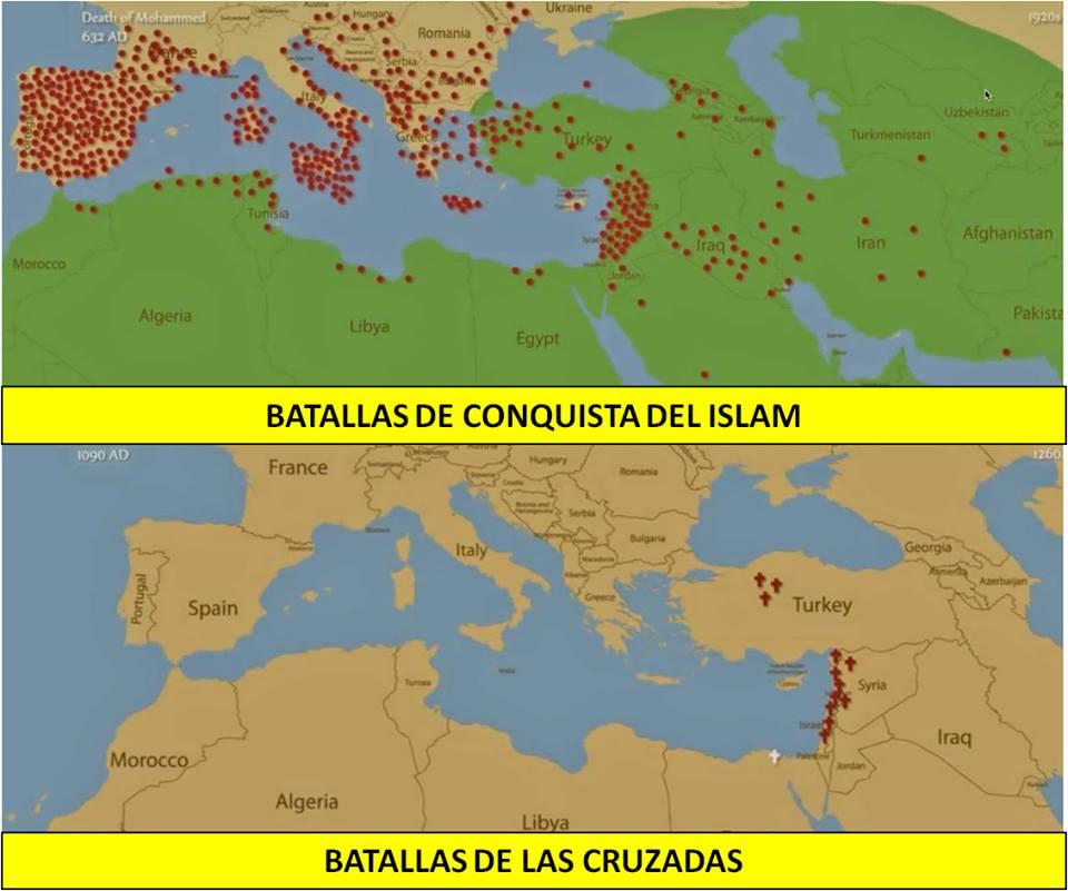 Batallas del Islam y las Cruzadas