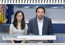 El regreso al futuro de TVE: Pablo Iglesias Secretario General del PSOE