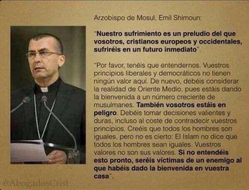 El arzobispo de Mosul