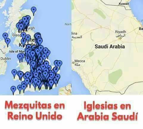 Mezquitas en Reino Unido