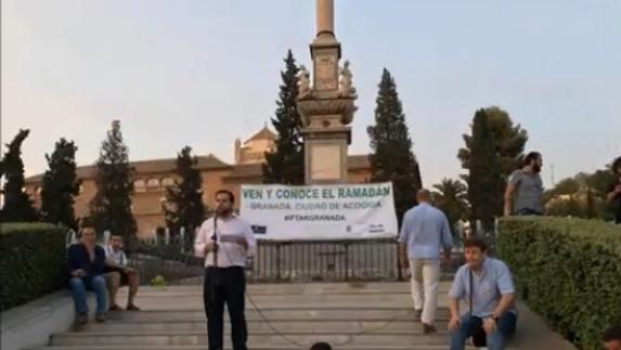 """Francisco Cuenca defiende a Granada como """"ciudad de tolerancia"""" frente a """"polémicas partidistas"""" por el acto de Ramadán"""
