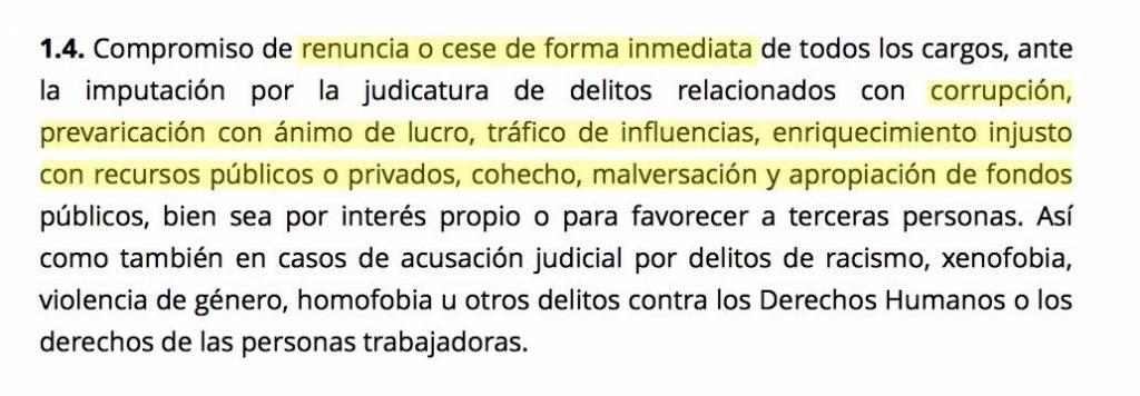 dice Rita Maestre que el Código Ético de Ahora Madrid no obliga a dimitir a Sánchez Mato y Celia Mayer.