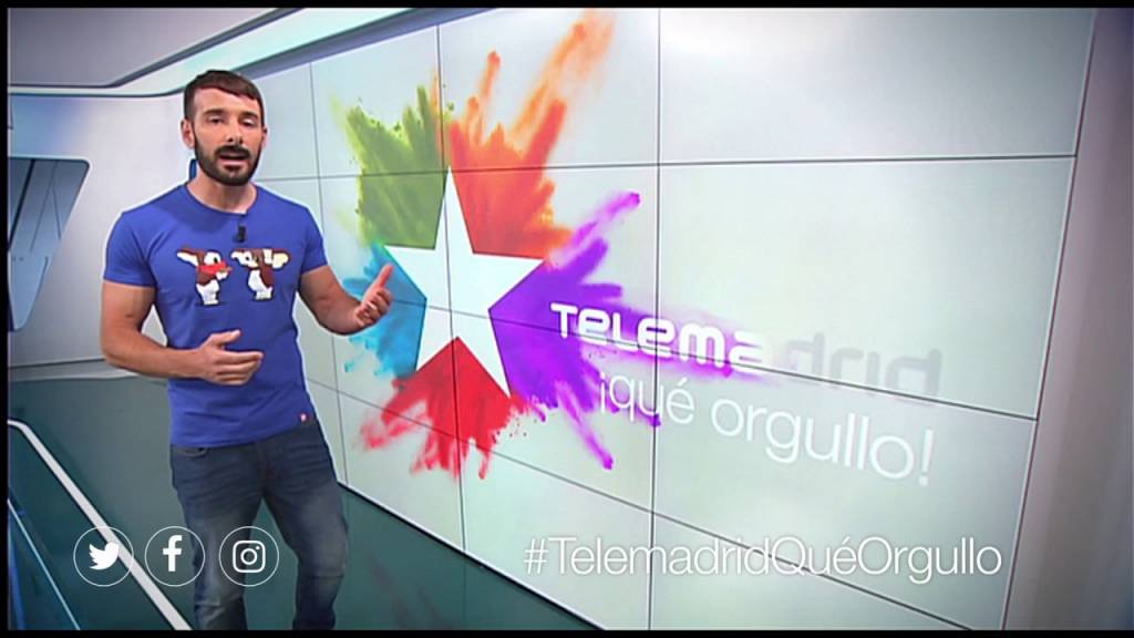 Cómo subir a la carroza de Telemadrid en el World Pride 2017