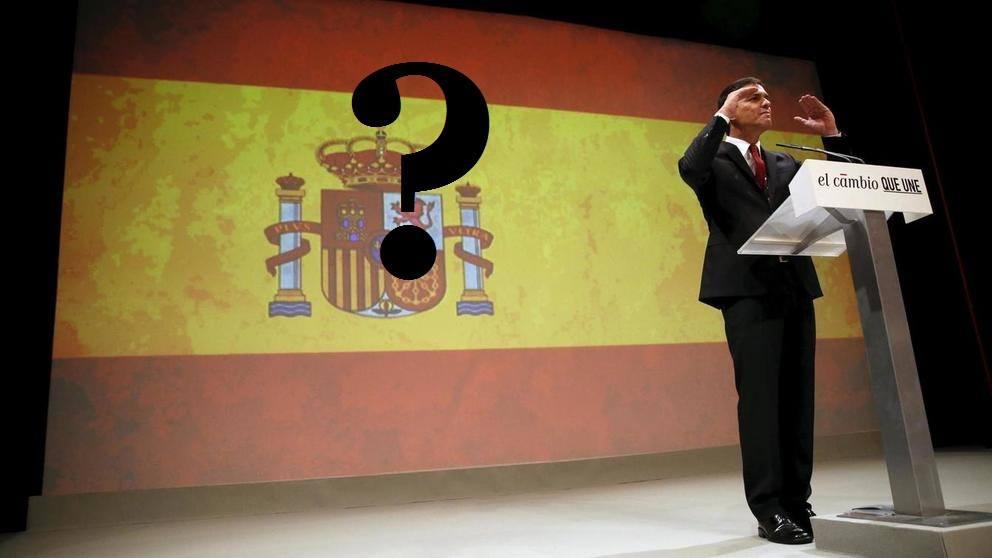 Sanchez y la bandera española