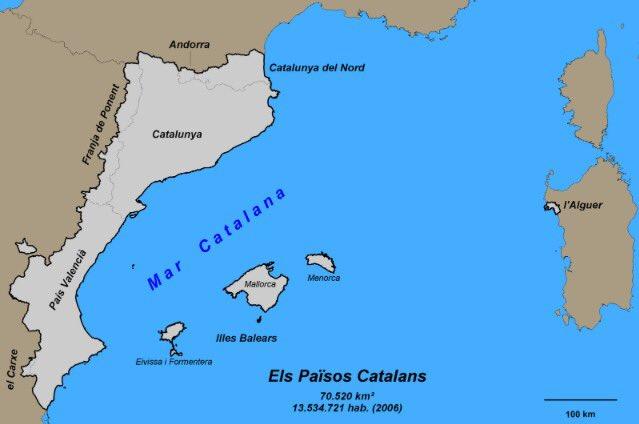 el inexistente mar catalán