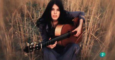 Fotograma de un video sobre Cecilia emitido en TVE